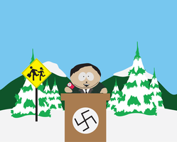 Cartman Hitler by Lolwutburger
