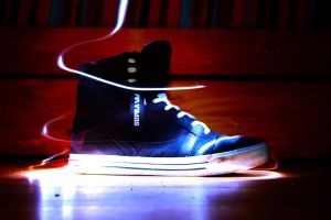 Supra Muska Skytop Light Painting by PythonIt