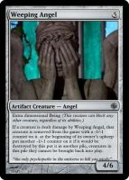 Weeping Angel by theUNDEADSHARK