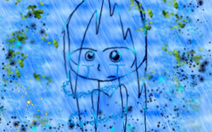 trapped in the rain of sorrow by thedazedartist