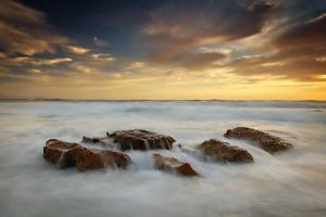Rocks in Clouds by timbodon