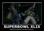 Bebop and Rocksteady, Reborn on Superbowl! by 4xEyes1987