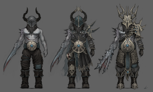 Chaos Marauder designs by UltimaFatalis