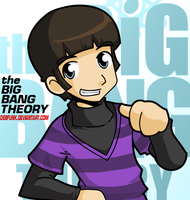 Big Bang Theory Howard by desfunk