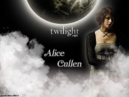 Cullen's Family-Alice by IvonkaMata