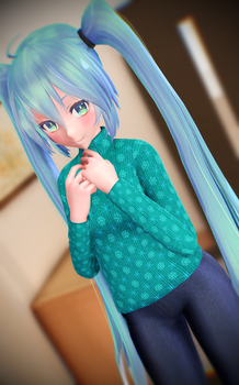 Do you like my sweater? by RiStarr