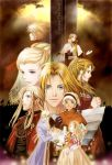 Saga Frontier 2/Gustave XIII and his relatives by nemling