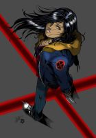 X-23 Blood 'n Flannel by 626Ghost