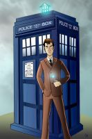 Dr. Who: Tenth Doctor (Commission) by Comedic44