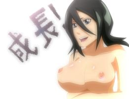 Rukia's Growth Coloured by Hunter98