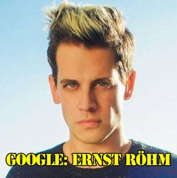 Milo is Ernst Rohm by crizzlesbuttons