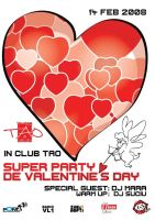 flyer Club TAO - Valentine's by semaca2005