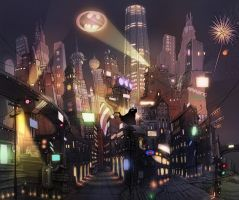 Gotham City Color by Shin500