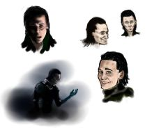 LOKI  SKETCHES by Auri3