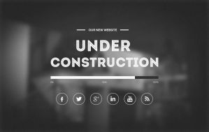Under Construction Template by freebiesgallery