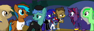 Nightmare Night Outing by Stickman16