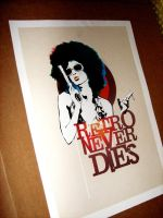 Retro Never Dies - Poster by Jazzgin