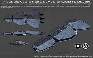 Redesigned Strike-class cruiser ortho [New] by unusualsuspex