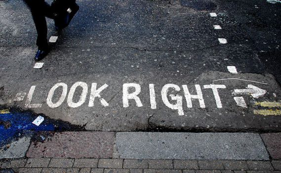 Look right by opcd