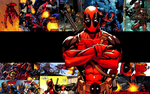 Deadpool - Black Stripe by tootalltony