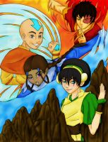 The Benders of Avatar by HauntedHouse667
