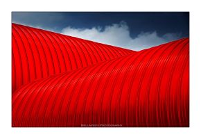 Red composition by Bateor