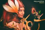 Wildfire Zyra from League of Legends by MorganaCosplay