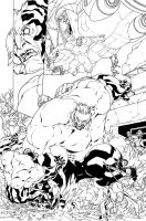 wildcats - maul by Neil-Googe