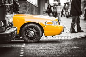 New York City Taxi by Torsten-Hufsky