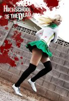 HOTD Rei Miyamoto Cosplay by CLeigh-Cosplay