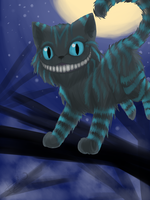 Cheshire cat by TheSnowyDream