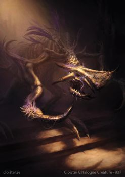 Enjirach - creature concept by Cloister