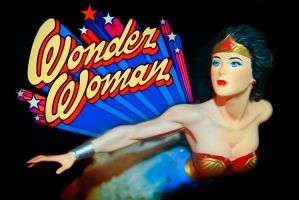 Wonder Woman Wall by iwonderbc