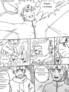 Naruto day off Page 1 by Okky-RightBrain