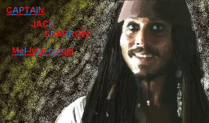 REALISM:Jack Sparrow- MS-Paint by mel-lyks-cereal