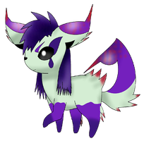 Venneon (Poison type Eeveelution) by SLO-MO-TION