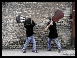 Abol in Rockloba : The Fight by WannTrad