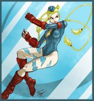 Cammy again by Puzzletoad