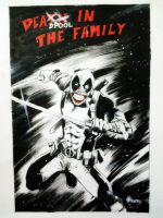 Deadpool in the family by ickhwano