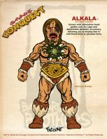 Alkala concept figure design. by ChrisFaccone