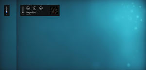 Windows 8 Music / Volume OSD (Rainmeter) by jbainbrid