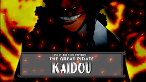 Kaidou by bunnaroath