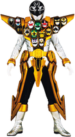 Super Megaforce Gold Ranger 2.0 by ChipmunkRaccoon2