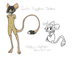 Greater Egyptian Jerboa Adoptie. +Closed+ by Stephys-Adoptables