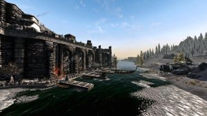 A bright winters day in Windhelm #1 - RCRN 3.5 by lupusmagus