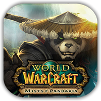 WoW Mists of Pandaria Game Icon by Wolfangraul
