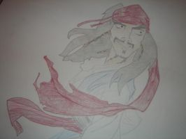 jack sparrow animated by ArtismyDeath