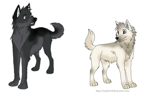 More RP Characters by kemiro-wolf