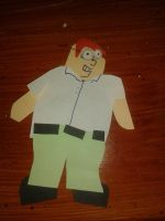 peter griffin cutout by everyday-im-wumboing