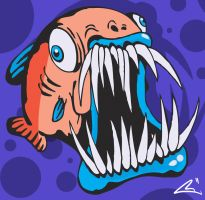 crazy fish by Bawarner